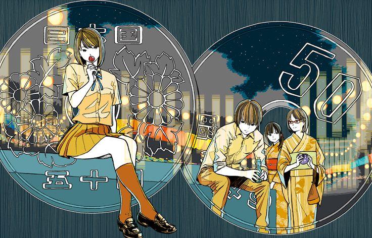 gomnaga.org   hirotaka tanaka illustration web