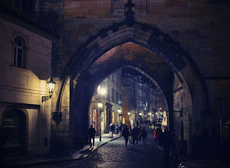 Night Prague - Czech Republic III by SvitakovaEva.deviantart.com on @DeviantArt