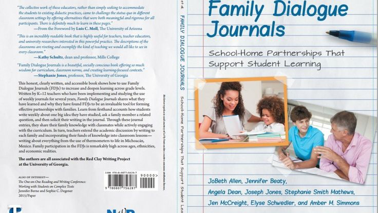 Teachers College Press and The National Writing Project have just published what looks to be a very useful book for educators titled Family Dialogue Journals: School-Home Partnerships That Support ...
