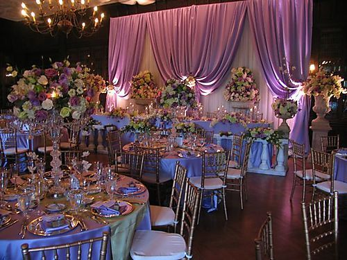 Enchanted Wedding Reception.... Hmm.. :) Sooo Pretty For A