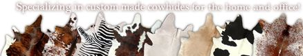 Love the white cowhide! Gives any room a rustic feel.