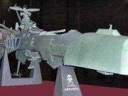 Space Pirate Captain Harlock - Arcadia Space Battleship Free Papercraft Download