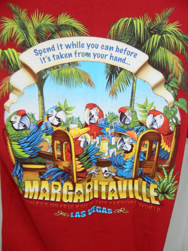 Jimmy Buffett Margaritaville Las Vegas Parrot Poker Cards ...