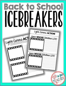 FREE This product can be used for the first day of school. It can be used for icebreakers and activities in social settings. The ideal age grades for this activity would be grades 3- 12..