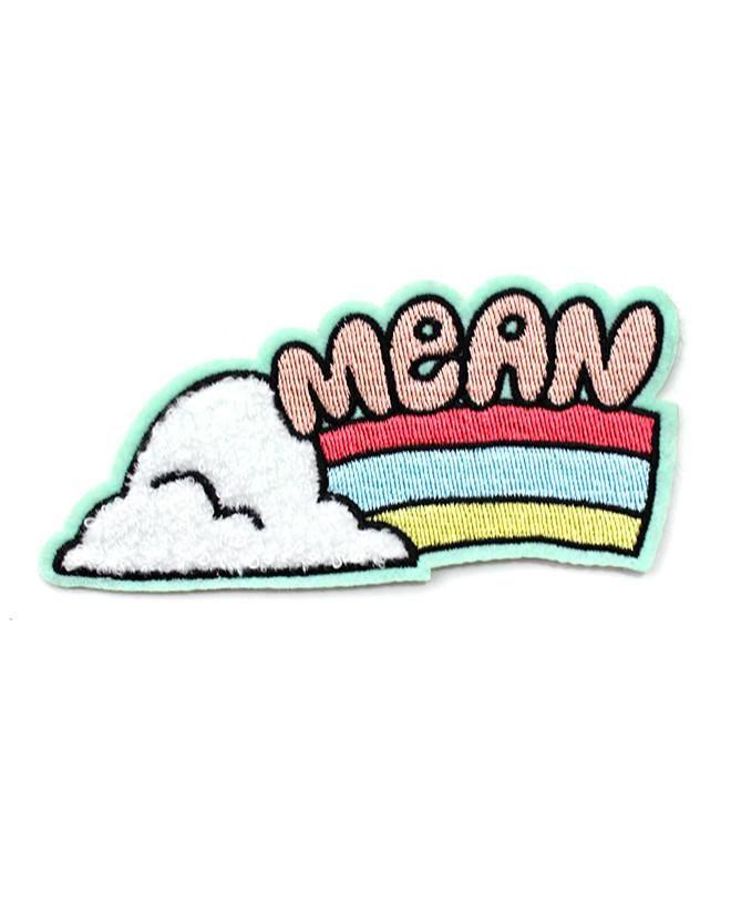 Mean Rainbow Chenille Patch-Tuesday Bassen-Strange Ways