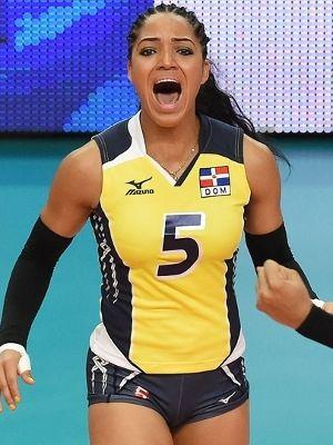 Brenda Castillo República Dominicana Volei