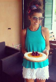 Candy Lovers by Azzuchef: La torta dell' estate: cheesecake al cioccolato bianco, cocco e marmellata di albicocche