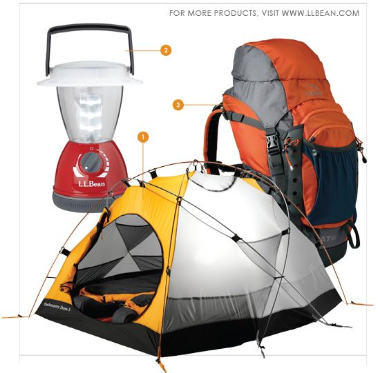 L.L.Bean camping gear featured in American Fitness Magazine. Are you getting ready for camping season?   Camping   Pinterest   Camping, Hiking and Camping gear
