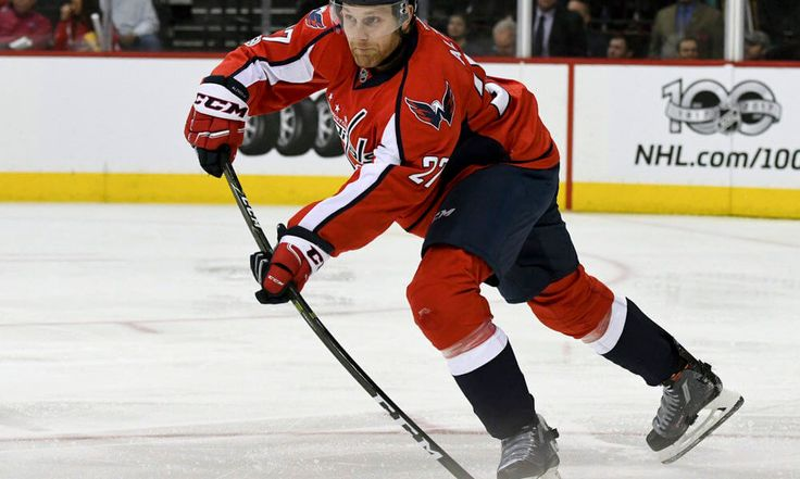 Karl Alzner a game time decision for Capitals = The Washington Capitals haven't seen stay-at-home defenseman Karl Alzner skate out with the club since April 15, when he went down with an upper body injury. The perennial iron man may not manage to skate out for the team's game Monday night, either. But there's a chance…..