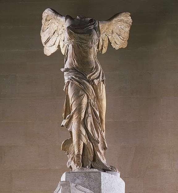 petróleo arquitecto metálico  Nike alata, II secolo a.C. da Samotracia, Parigi, Louvre   Arte greca,  Arte, Louvre