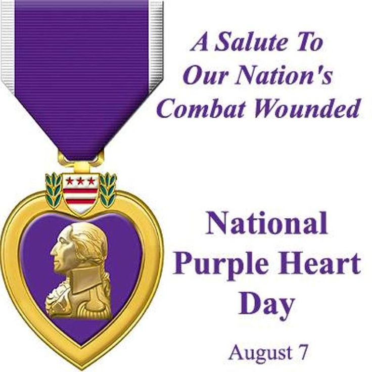 images of purple heart day | Purple Heart Day 08 - WishMeme