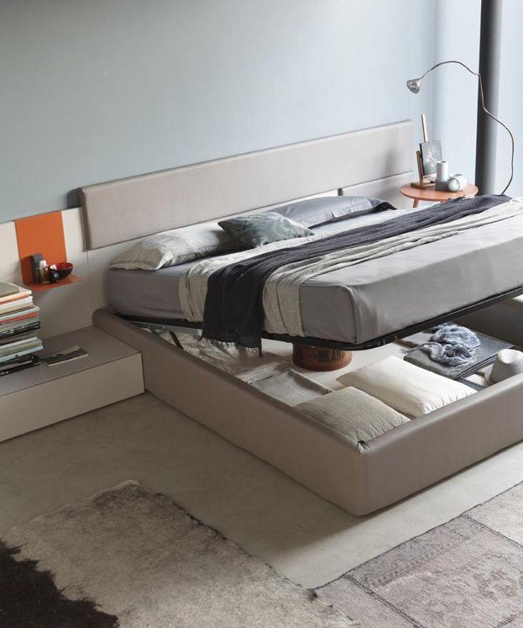 letto Sacco sistema Obi.#itesoricoloniali #letto #bed #arredamenti #casa #reggioemilia #homestaging #design #zonanotte #rossetto