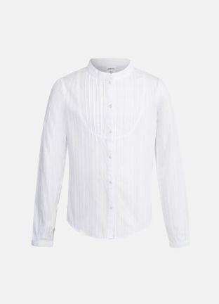 Хлопковая блуза с отделкой за 1399р.- от OSTIN