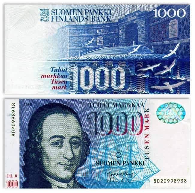 Finnish currency before euro