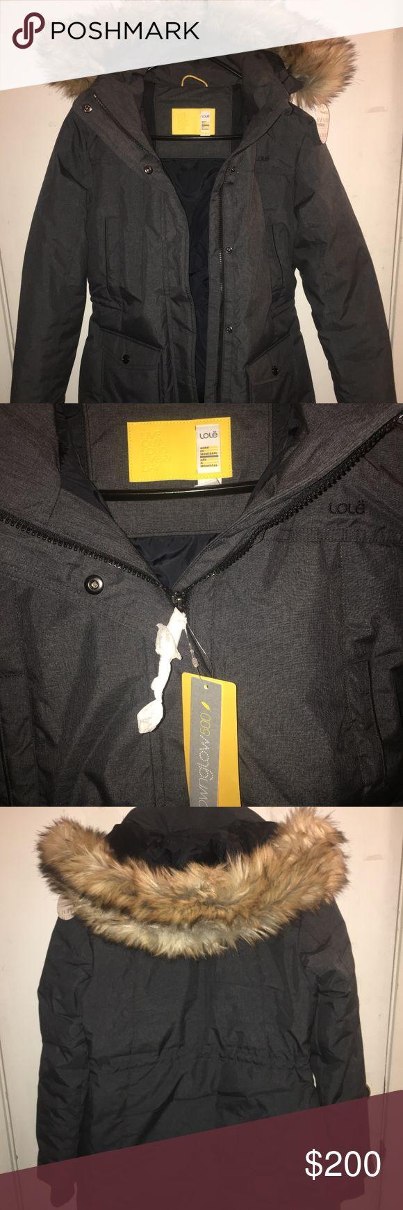 Winter coat Downglow™ 500 insulation jacket with detachable faux fur hood https://www.lolewomen.com/luw0488.html Lole Jackets & Coats Puffers
