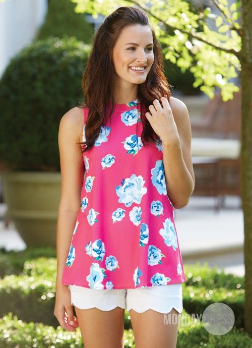 Beautiful Awakening Top In Floral | Monday Dress Boutique
