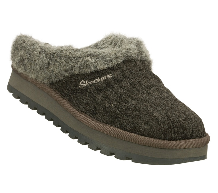 Sketchers slippers - natural or gray in 7.5 or 8 - 40.00