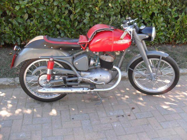 1954 Mi-Val Gobbetto 125 Frame no. 22711 Engine no. 22711