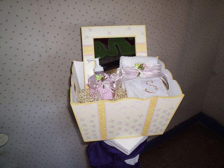 caja set baño