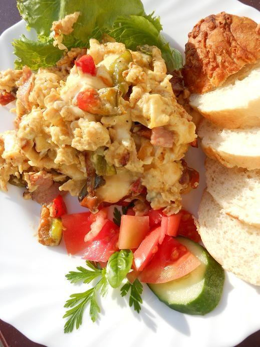 Jajecznica z papryką doda Ci energii