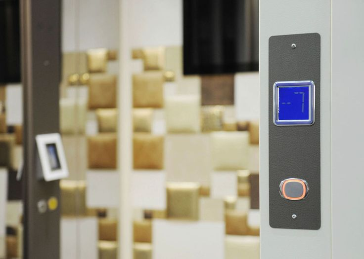 Elevator & Design: Domuslift Leather with leather inner finishes