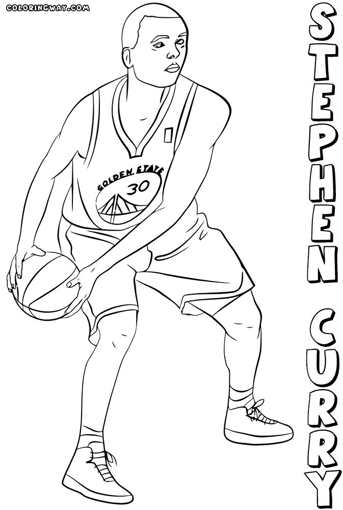 basketball player printable coloring pages - photo#14