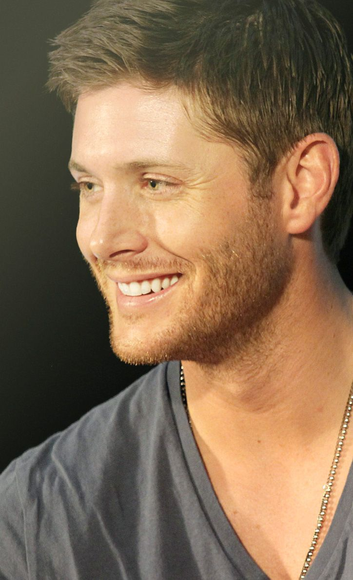 for goodness sake, Jensen!! STOP! I'm going to dehydrate from all this drooling...