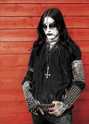 """King ov Hell of Gorgoroth, Bergen""  From photographer Peter Beste and his book ""True Norwegian Black Metal"""