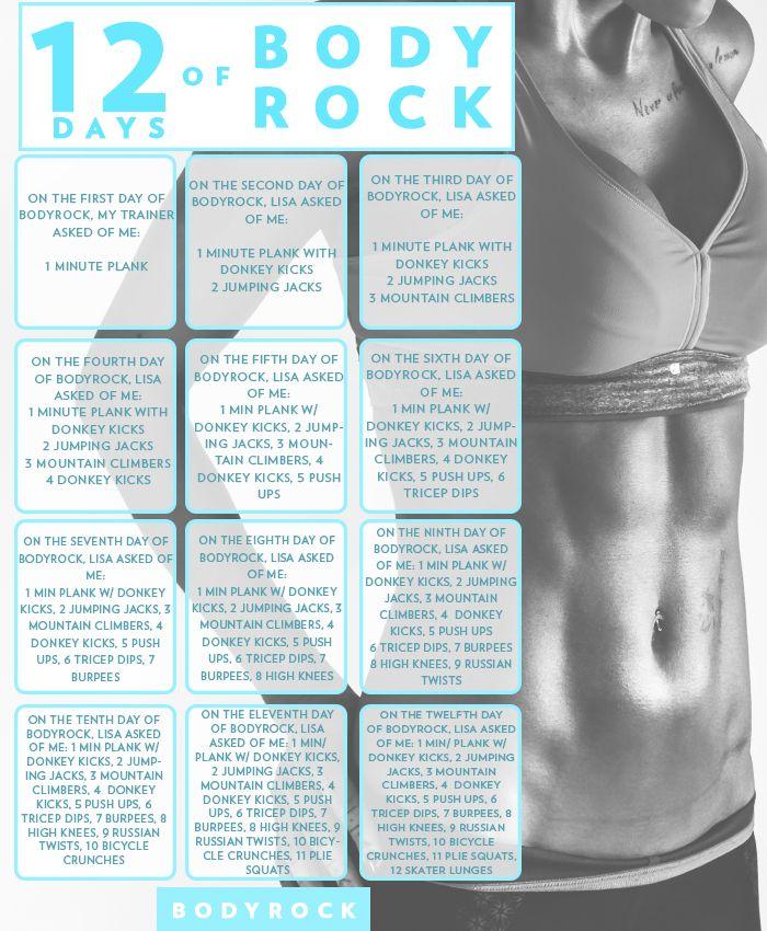 12 Days of BodyRock