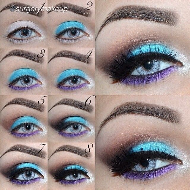 "Fabulous tutorial by @surgerymakeup! ""Tutorial Brushes ..."