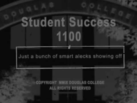 Douglas College Student Success - Part 3/3 - YouTube