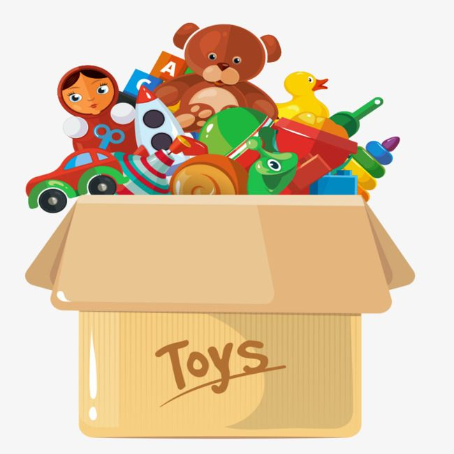 Lovely Toy Box Png And Clipart Toys Toy Boxes Clip Art