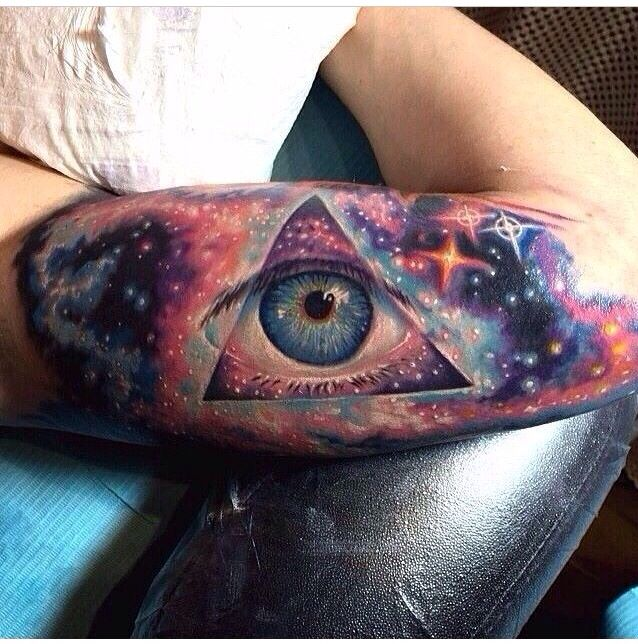 space themed tattoos tumblr