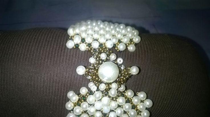 The back side of the bracelet
