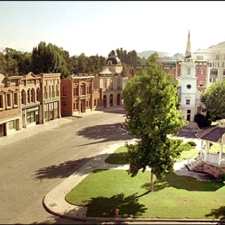 Stars Hollow from Gilmore Girls... I think this is the same set they use for Rosewood on Pretty Little Liars........