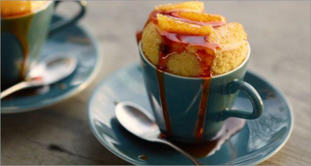 10 recettes de gâteaux dans une tasse!