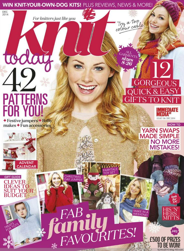 Knit Today Issue 106 2014 - 紫苏 - 紫苏的博客