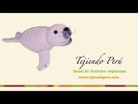 Foca amigurumi tejida a crochet (amigurumi seal) Parte 1