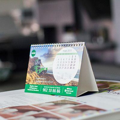 Plantillas Calendarios de Mesa 2016 para imprimir gratis