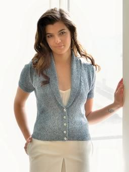 Sherry - use colourspun and lengthen sleeves