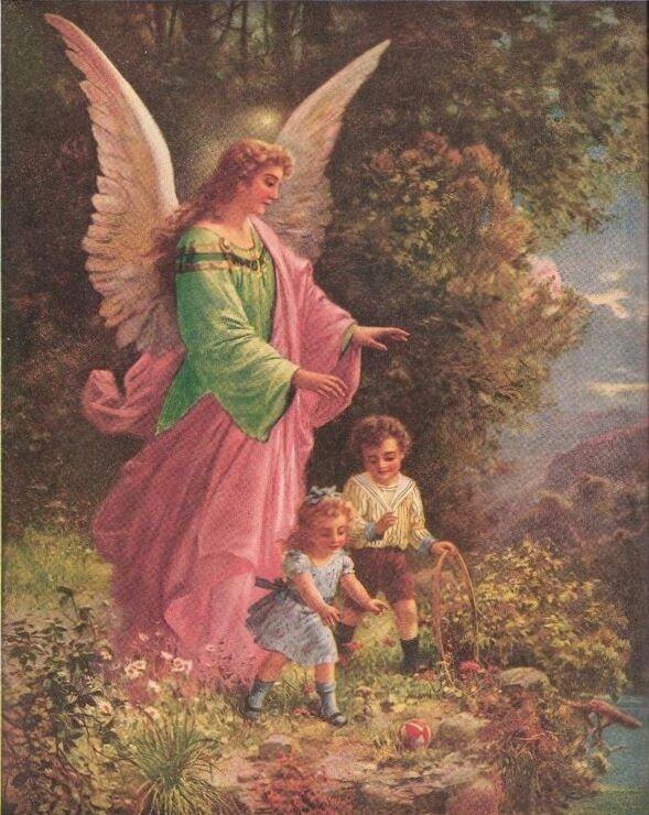 Открытка ангел хранитель для сына