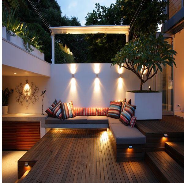 modern teras dekorasyon fikirleri