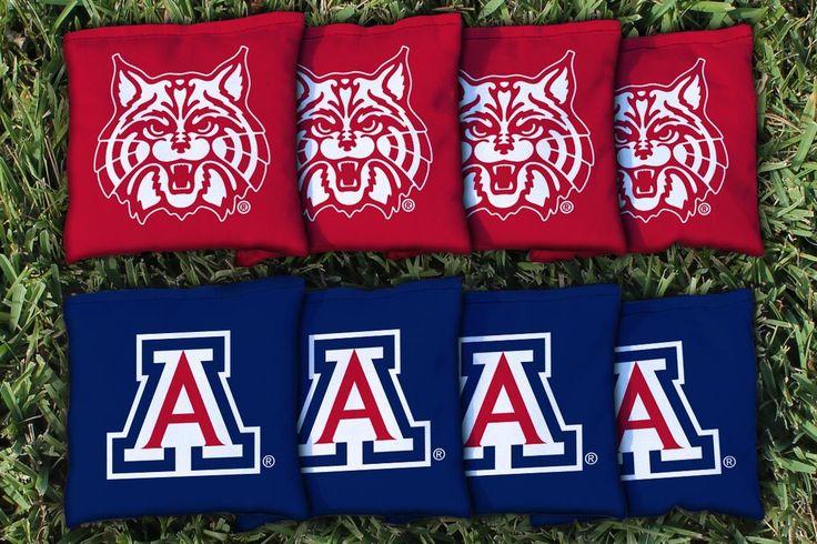 Arizona Wildcats All Weather Cornhole Replacement Bag Set