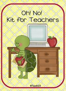 Oh! No! Kit for teachers - I can personally say the whole shoe/sock thing is a great idea!! My last semester of student teaching the parking lot at the school flooded and I had to move my car, my feet were soaked afterwards! I tried to dry them with the h