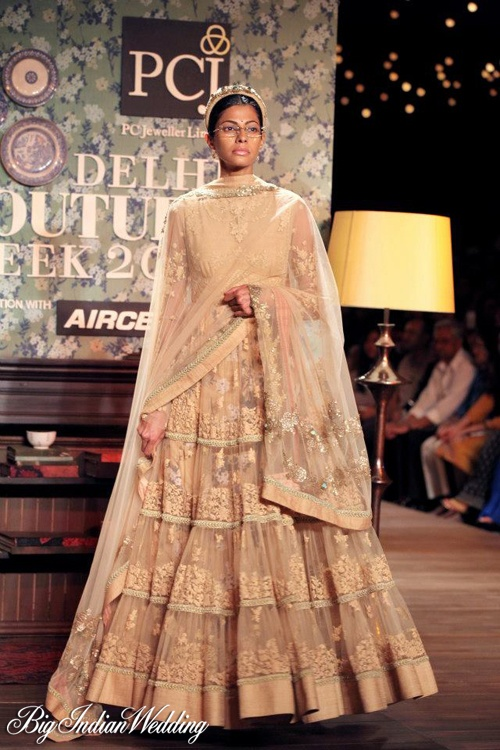 #sabyasachi latest collection at delhi couture week 2012