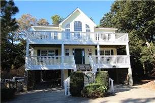 Whispering Pines 9- Whispering Pines is a beautiful home located oceanside in Corolla Light, the award winning, and premier resort community on the Outer Banks.