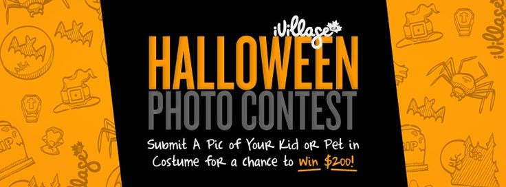 iVillage Canada is using SoCast's Facebook app to give you a chance to win $200!!!  If ever there was a holiday that lends itself to amazing photos, it's Halloween, and you can get in on the fun by submitting a photo of your furry friend or child in their favorite #Halloween costume!  Click here to head over to@iVillageCanada's Facebook page to enter!  Contest closes Nov 1st 2013.