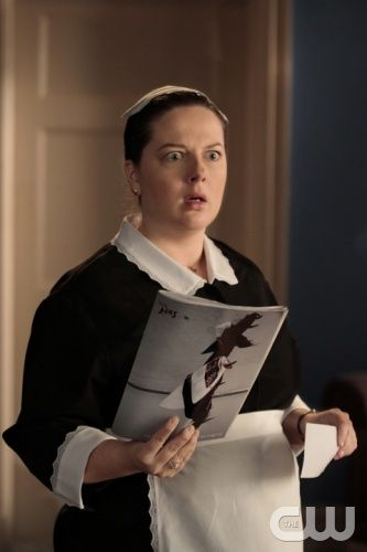 """Empire Of The Son""--  Pictured  Zuzanna Szadkowski  as Dorota in GOSSIP GIRL  on THE CW.   PHOTO CREDIT: GIOVANNI RUFINO/ THE CW 2011 The CW Network, LLC. All Rights Reserved"