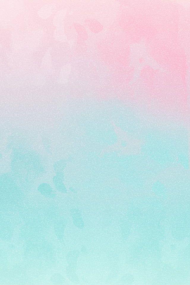 Blue Powder Contrast Color Paint Watercolor in 2020