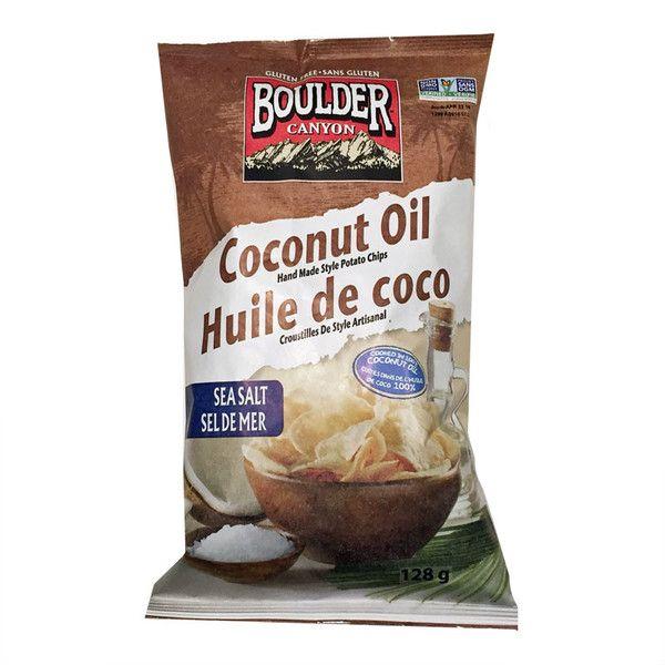 Boulder Canyon Coconut Oil Kettle Chips - 128g